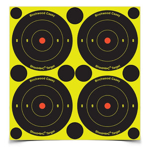Birchwood Casey 3in Bulls Eye-4k Targets-10k Pasters