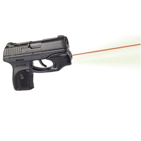 LaserMax Centerfire Light Laser Red w Grip Sense Ruger LC