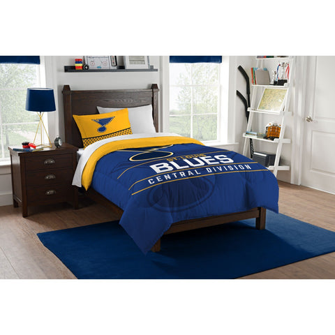 St. Louis Blues Twin Comforter Set