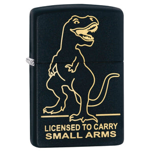 Zippo Matte Black License to Carry Lighter