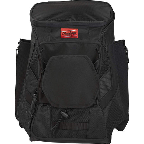 Image of Rawlings R600 Players Baseball Backpack Scarlet