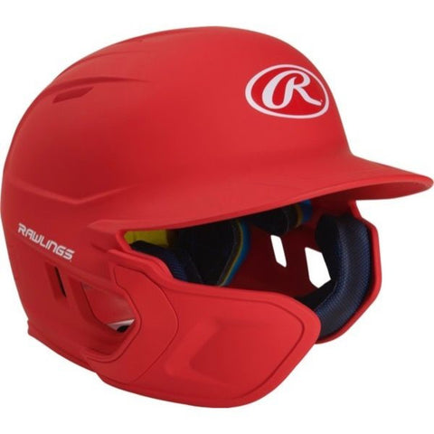 Image of Rawlings Mach EXT Batting Helmet-Royal-SR-RH