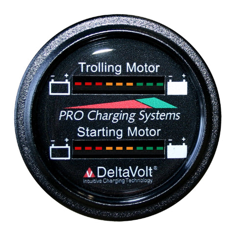 Dual Pro Dual Battery Fuel Gauge Trolling 12V Starting