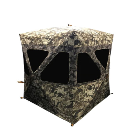 Muddy Infinty 3 man Pop-Up Blind with Shadow Mesh Windows