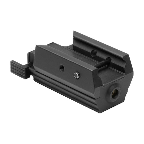 NcSTAR Tactical Pistol Red Laser for Accessory Rail-Aluminum