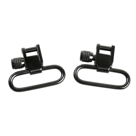 NcSTAR 1 inch Lockable Sling Swivel Pair-Black