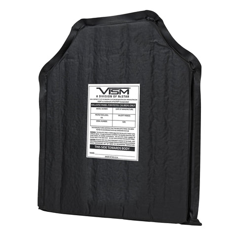 Vism Soft Ballistic Panel 10 in x 12 in Shooters Cut