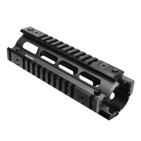 NcSTAR 3-8 in Dovetail to Picatinny Rail Adapter Rail-Short