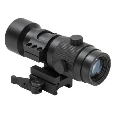 NcSTAR 3X Magnifier with Flip to Side 30MM QR Mount