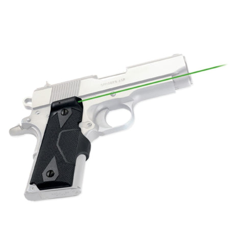 Crimson Trace 1911 Officer Comp Def Lasergrips Green Laser