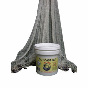 Lee Fisher Nylon Cast Net 4 Feet 3 8 Inch CBT-SN4