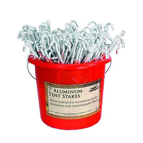 Texsport 200PC Set Tent Peg Aluminum Packed 200 Cs.
