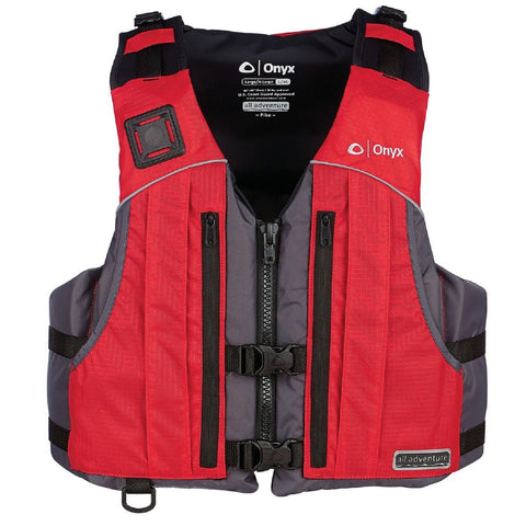 Onyx All Adventure Pike Vest - Red L XL