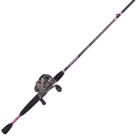 Zebco 33 Ladies Camo 6Ft 2-Pc Medium Spincast Combo