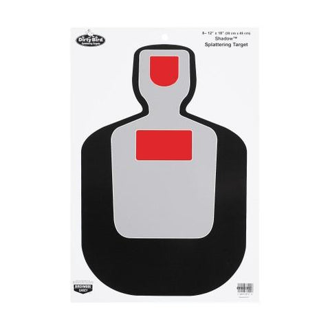Birchwood Casey Dirty Bird BC19 Silhouette 12x18 Target 8 Pk