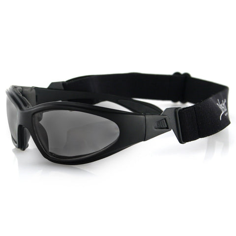 Image of Bobster GXR Sunglasses-Matte Black Frame with Smoked Lens