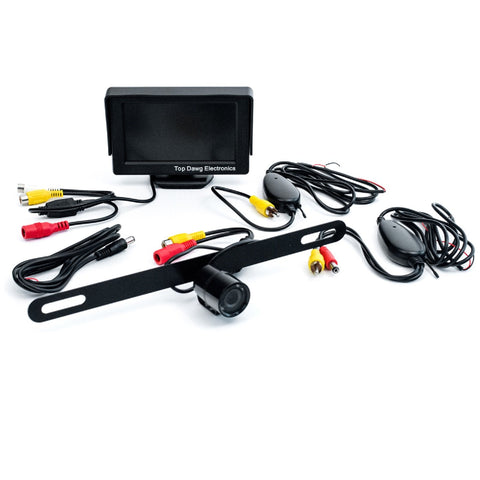 Top Dawg Commercial Heavy Duty Wireless Rear View Camera