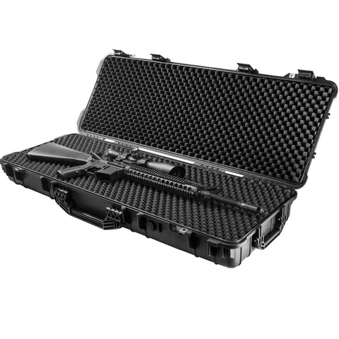 Barska Loaded Gear AX-600 Watertight Hard Case - 44in Black