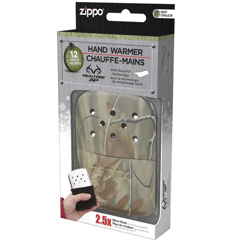Zippo Refillable Hand Warmer 12 Hour Matte Realtree