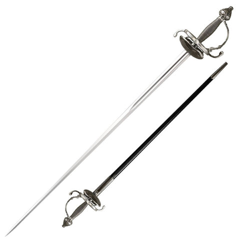 Cold Steel Cavalier Rapier Sword 36.00 in Blade