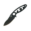 Nemesis Afterburner Neck Knife Bld 2.2in Overall 5.25in Blk