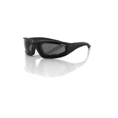 Bobster Foamerz 2 Sunglass Black Frame Anti-fog Smoked
