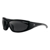 Bobster Rider Sunglasses Matte Black Frame Smoked Lens