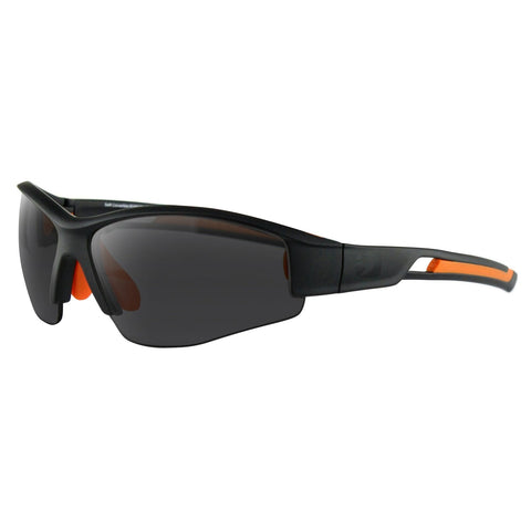Bobster Swift Sunglasses Matte Blk-Orange Frame 3 Sets Lens
