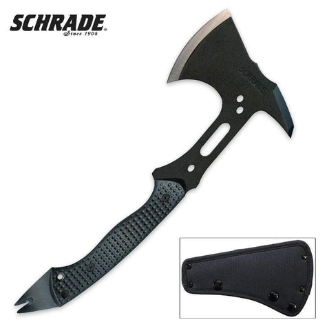 Scrhade Tactical Hatchet 13 in. Overall Length
