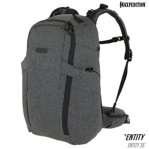 Maxpedition ENTITY35 CCW-Enabled Laptop Backpack35L Charcoal