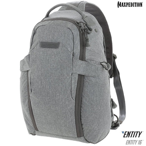 Maxpedition ENTITY 16 CCW-Enabled EDC Sling Pack 16L Ash