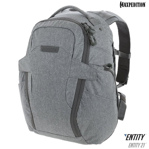 Maxpedition ENTITY 21 CCW-Enabled EDC Backpack 21L Ash