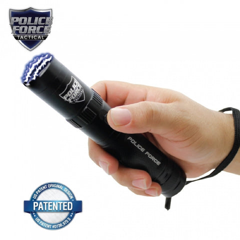 Police Force Tactical 9.2 mil Stun Flashlight