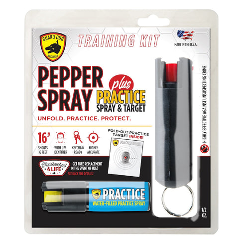 Guard Dog Practice Pepper Spray