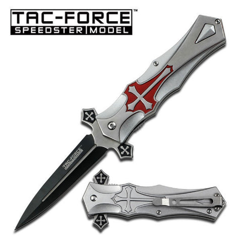 Tac-Force Assisted 4.0 in Blade Aluminum Handle