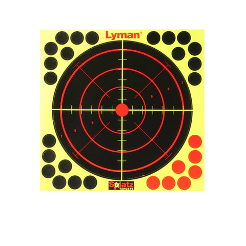 Lyman Splatz Reactive Targets 8 x 8 in Pack