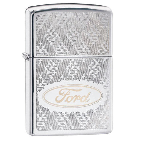 Zippo HP Chrome Ford Lighter
