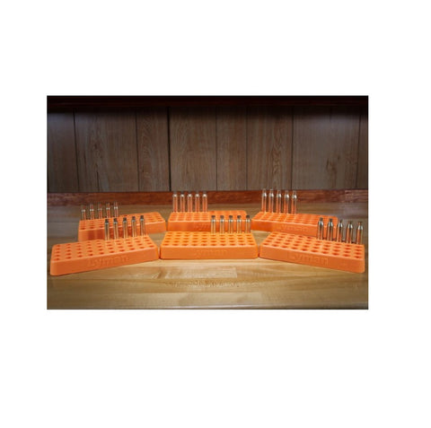 Lyman Custom Fit Loading Block .388 Diameter Orange