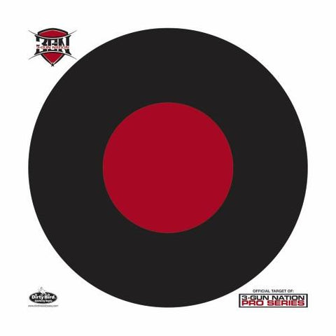 Birchwood Casey Dirty Bird 17.25in 3-Gun Nation Target 5 Pk