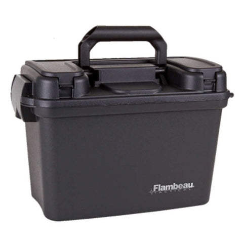 Flambeau 18in Dry Box Black Tactical