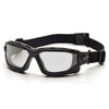 Pyramex I-Force Black Frame Clear AF Lens Sealed Eyewear