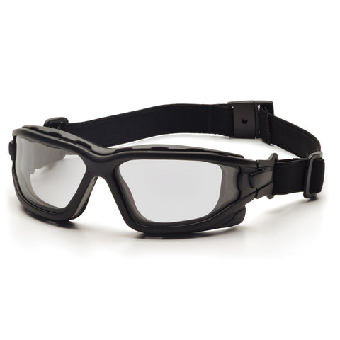 Image of Pyramex I-Force Slim Black Frame Gray AF Lens Sealed Eyewear
