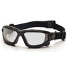 Pyramex I-Force Slim Black Frame Gray AF Lens Sealed Eyewear