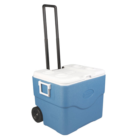 Coleman 75 Quart Xtreme Wheeled Blue Cooler