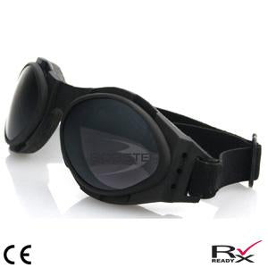 Bobster Bugeye 2 Interchange Goggle Black Frame 3 Lenses