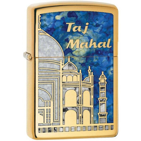 Zippo High Polish Brass Fusion Taj Mahal Lighter