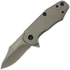 Kershaw Ember Assisted 2.0 in Plain Stainless Handle