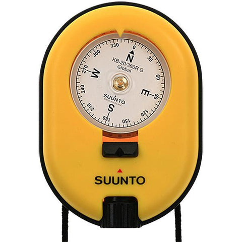 Suunto KB-20-360R Professional Series Compass Yellow