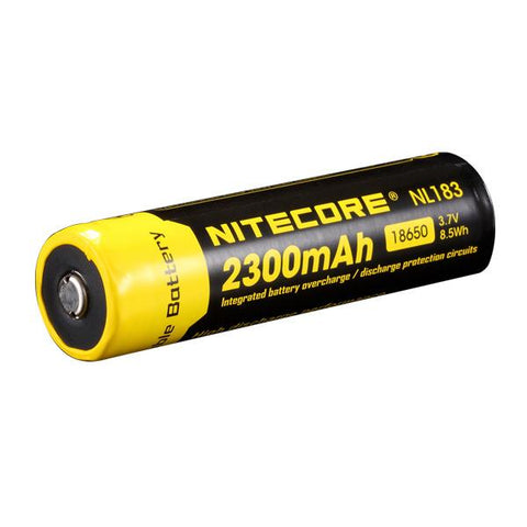 Nitecore 18650 Rechargeable Battery 2600mAh