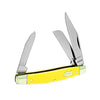 Old Timer Middleman Multi-Blades 2.5 in Blade Yellow Delrin